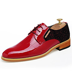 British Men's Fashion Wedding Shoes Casual Pointed toe Leather Shoes Oxfords Business Shoes