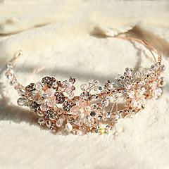 Women's Rhinestone / Alloy / Imitation Pearl Headpiece-Wedding / Special Occasion Headbands 1 Piece
