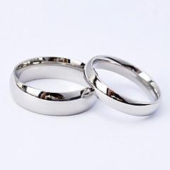 בגדי ריקוד גברים נשים לזוג טבעות לזוג תכשיטים פלדת טיטניום תכשיטים עבור חתונה Party יומי קזו'אל ספורט