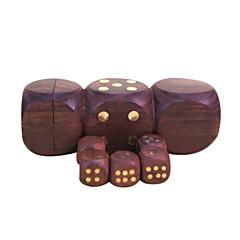 Royal St venda hua pontos dados Limu completamente de madeira material de embutidos de cobre atmosfera prego 1 conjunto de dados de 1,7 cm