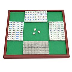 Royal St. miniatura de cristal mahjong mahjong mahjong turismo 20 milímetros de marfim / bag