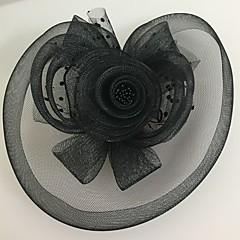 Femme Tulle / Filet Casque-Mariage / Occasion spéciale Coiffure 1 Pièce