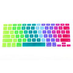 """coosbo® peau colorée de couverture de protection du clavier en silicone pour pro rétine air mac macbook 11"""" , 13"""" , 15"""" , 17"""""""