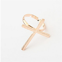 Cross Punk Retro Ring