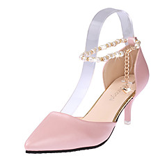 Women's Shoes PU Stiletto Heel Heels / Pointed Toe Heels Wedding / Office & Career / Party & Evening / Dress / Casual