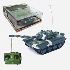 Čtyři dráha simulaci řízení dálkové ovládání, nabíjecí tanks- porcelán typ 99 hlavní bitevní tanky 1