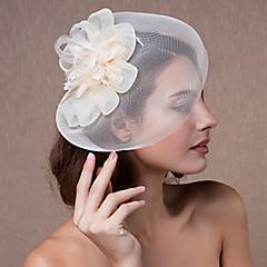 Γυναικείο Δαντέλα Φτερό Τούλι Headpiece-Γάμος Ειδική Περίσταση Διακοσμητικά Κεφαλής 1 Τεμάχιο