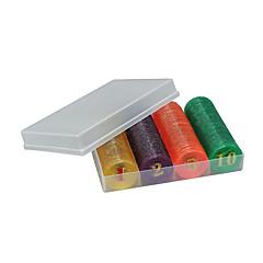 chip dourado capa dura 160 comprimidos para material de proteção ambiental mahjong xadrez entretenimento