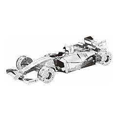 Quebra-cabeças Quebra-Cabeças 3D / Quebra-Cabeças de Metal Blocos de construção DIY Brinquedos Carro Metal PrateadaModelo e Blocos de