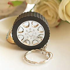 Wheels Measuring Tape Keychain Baby Shower Favors, Bridesmaids Souvenirs