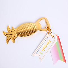 Garrafa Favor 1Peça/Conjunto Abridores de Garrafa Tema Praia Não-Personalizado Cromado Dourado