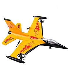 WS 9106 F16 Quadcóptero RC 4ch 2.4G Espuma amarillo