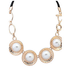 Fashion Circle Pearl Necklace