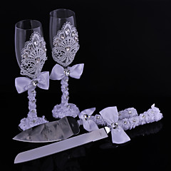 Sarel Spleenwort Herb Lace Cups Knife And Fork Combination