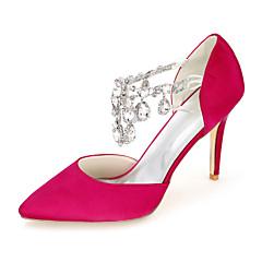 Zapatos de boda - Tacones - Puntiagudos - Boda / Fiesta y Noche - Negro / Azul / Rosa / Morado / Rojo / Marfil / Blanco / Plata / Champán