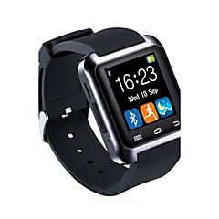 Homens Relógio Esportivo Relógio Inteligente Relógio de Pulso Digital LED Controle Remoto Borracha Banda Pendente Luxuoso Preta Branco