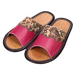 M.livelihood.H® Unisex Leder Pantoffeln-YQ201602