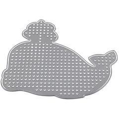 1stk skabelon klar pegboard hval springvand mønster for 5mm Hama perler Perler perler sikringsholdere perler