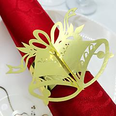 Lepenkový papír Svatební Ubrousky-50 Piece / Set Kroužky na ubrousky
