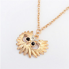 Fashion Owl Necklace Wild Flower Necklace