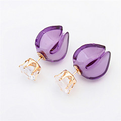 Sweet Lady Fashion Personality Bud Earrings Cute Jewelry