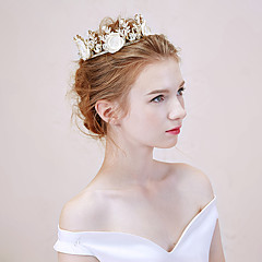 Miss Diva   Women's Alloy Headpiece Tiaras 1 Piece White Flower 58
