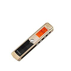 fekete 8g professzionális digitális hd zajcsökkentés mp3 felvétel toll-TF-600