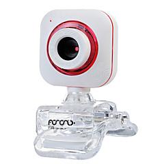 usb 2.0 webkamera 0.5m cmos 640x480 30fps rød / lilla