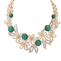 Small Round Hollow Flower Necklace Fashion Jewels