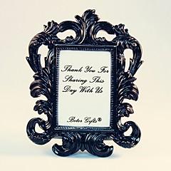 Wedding Décor - 1pcs Black Baroque Elegant Photo Frame Place Card Holder Party Décor