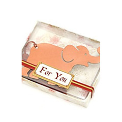 Beter Gifts® Recipient Gifts - 1Piece/Set Valentine's Day Party Souvenirs Elephant Bookmark Favors