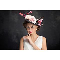 成人用 フラックス / ネット かぶと-パーティー ヘッドドレス 1個