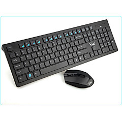 Sem Fio Bluetooth Teclado & Mouse para Windows 2000/XP/Vista/7/Mac OS