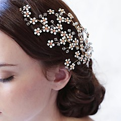 Women's Rhinestone / Alloy / Headpiece-Wedding / Special Occasion / Casual Hair Combs / Hair Tool 1 Piece Ivory