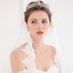 Femme Alliage Imitation de perle Casque-Mariage Occasion spéciale Décontracté Tiare Serre-tête Couronnes Accessoires pour Cheveux 1 Pièce