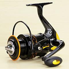 Spinne-hjul 5.2/1 13 Kuglelejer ombyttelig Spinning Flue Fiskeri-AD2000-5000