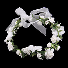 Women's Fabric Headpiece-Wedding Wreaths 2 Pieces