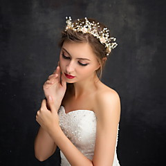 Femme / Jeune bouquetière Strass / Alliage / Imitation de perle Casque-Mariage / Occasion spéciale / Décontracté Serre-tête 1 Pièce