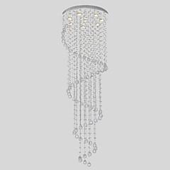 sl® csillár luxus modern kristály 8 fények