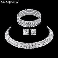 Bijoux Colliers décoratifs / Boucles d'oreille / Bracelet Nuptiales Parures A la Mode / InspirationMariage / Soirée / Quotidien /