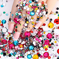 2000pcs Nail Art Decoration Rhinestone Pearls make-up Cosmetische Nail Art Design