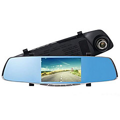 5 Inch Rearview Mirror And Tachograph Dual Lens HD Night Vision Pairs Recorded 2248 Well-Informed Scheme