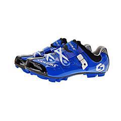 BOODUN/SIDEBIKE® Tênis para Mountain Bike Sapatos para Ciclismo Unisexo Almofadado Bicicleta De Montanha Couro Ecológico Malha Respirável