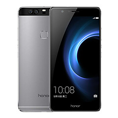 "Huawei Honor V8 5.7 "" Android 6.0 Smartphone 4G ( Double SIM Huit Cœurs 12 MP 4Go + 64 GB Rose Gris Doré )"