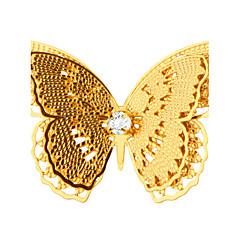 borboleta novos chegada broche de ouro 18k real, banhado de jóias finas de segurança de luxo chave broche de x30013 dom mulheres