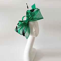 נשים נוצה פשתן כיסוי ראש-חתונה אירוע מיוחד קישוטי שיער חלק 1
