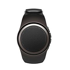 Bluetooth Portable Mini Watch Style Sport Speaker TF Card FM Radio Speakers with Selfie Shutter Anti-Lost Loudspeaker