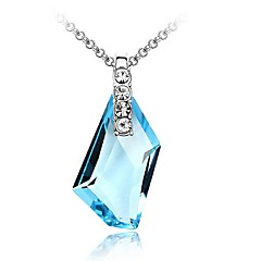 Thousands of colors Necklace Pendant Necklaces Jewelry Platinum Plated Party Silver 1pc Gift