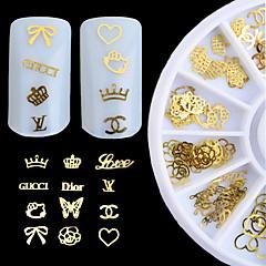 1pcs nagel sieraden decoratief draaischijf nagel gereedschap (stijl willekeurige)