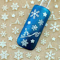 1 Nail Art Sticker 3D Nagelstickers make-up Cosmetische Nail Art Design
